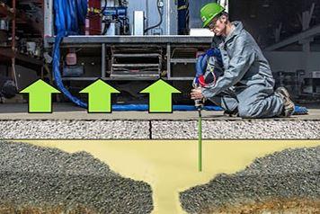 polyurethane foam concrete lifting utah